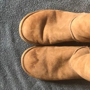 UGG Shoes - UGG Classic Tall Boots, Tan, Waterproof Shearling